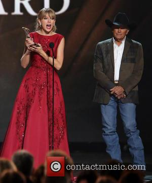Taylor Swift and George Strait