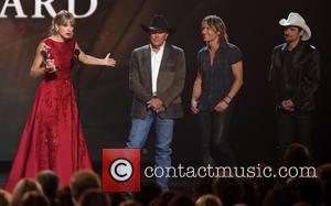 Taylor Swift, George Strait, Keith Urban and Brad Paisley
