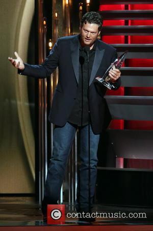 Blake Shelton - 47th CMA Awards Show - Nashville, Tennessee, United States - Thursday 7th November 2013