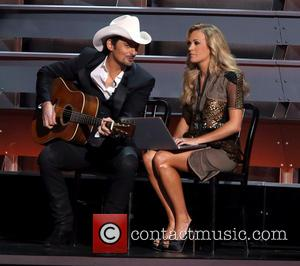 Brad Paisley and Carrie Underwood - 47th Country Music Awards held at Bridgestone Arena - Performances and Show - Nashville,...