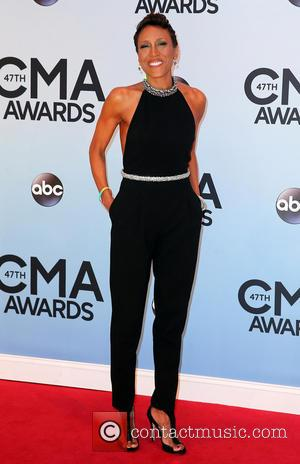 Robin Roberts - 47th Annual CMA Awards Red Carpet at the Bridgestone Arena in Nashville, TN - Nashville, Tennessee, United...