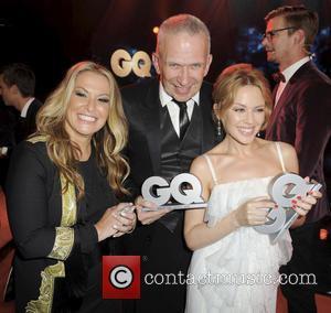 Anastacia, Jean Paul Gaultier and Kylie Minogue