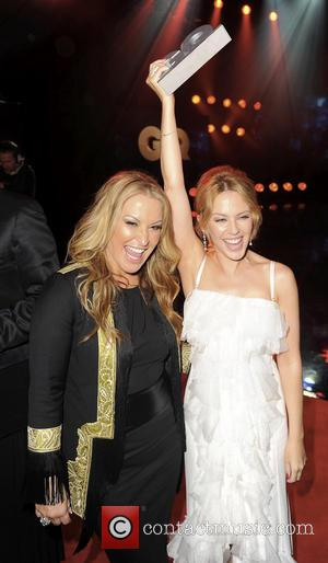 ANASTACIA and KYLIE MINOGUE - GQ Men Of The Year 2013 in Berlin - Berlin, Germany - Thursday 7th November...