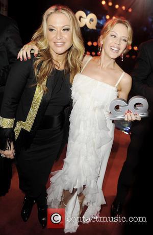 Anastacia and Kylie Minogue