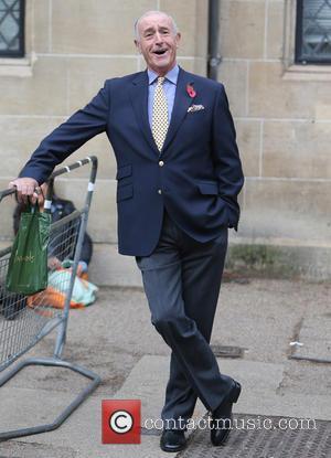 Len Goodman - Len Goodman outside the itv studios - London, United Kingdom - Thursday 7th November 2013
