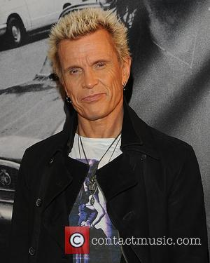 Billy Idol Writing Memoir