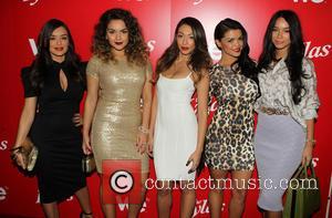 Jaime Kailani Bayot, Presley Hernandez, Tiara Hernandez, Tahiti Hernandez and Guest