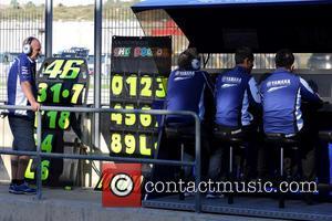 Valentino Rossi - The 2013 MotoGP World Championship - Day 1 - Valencia, Spain - Friday 8th November 2013