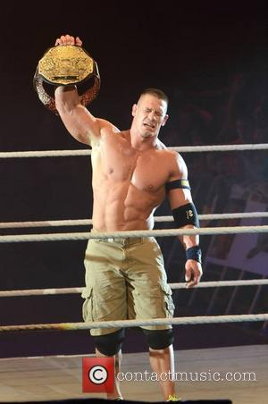 John Cena - John Cena makes his return from elbow surgery at The O2 for the WWE Live tour... -...