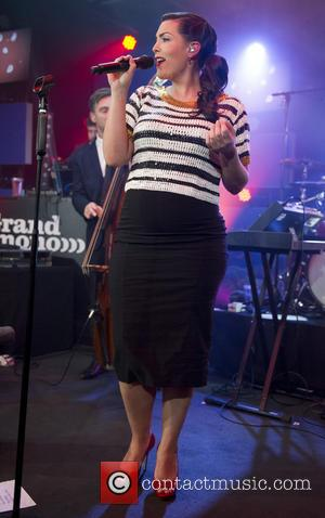 Caro Emerald - Caro Emerald performs live to a sold out crowd at Club Ziggo - Amsterdam, Netherlands - Friday...