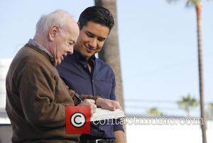 Tim Conway and Mario Lopez