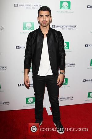 Joe Jonas - Blue Jeans Go Green celebrates 1 million pieces of Denim collected for recycling,  at Skybar At...