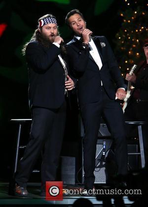 Willie Robertson and Luke Bryan