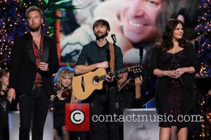 Lady Antebellum, Charles Kelley, Dave Haywood and Hillary Scott - 2013 CMA Country Christmas hosted by Jennifer Nettles at The...