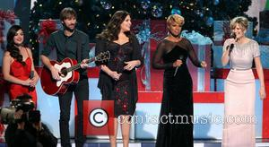 Lucy Hale, Dave Haywood, Hillary Scott, Mary J. Blige and Jennifer Nettles