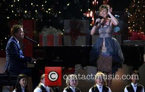 Michael W. Smith and Jennifer Nettles - 2013 CMA Country Christmas hosted by Jennifer Nettles at The Bridgestone Arena -...