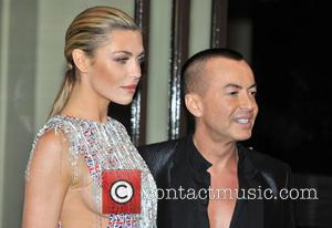Abbey Clancy and Julien Macdonald