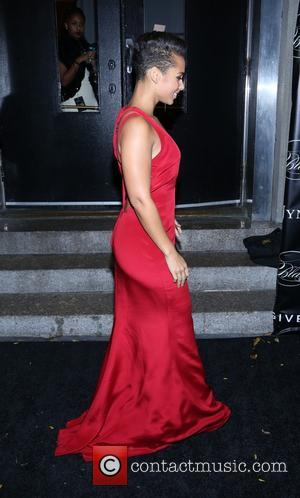 Alicia Keys - Keep A Child Alive's 10th Annual Black Ball at Hammerstein Ballroom on November 7, 2013 in New...