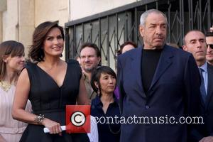 Mariska Hargitay and Dick Wolf