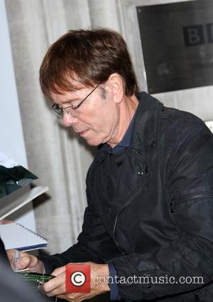 Cliff Richard - Celebrities at the BBC Radio 2 studios - London, United Kingdom - Friday 8th November 2013