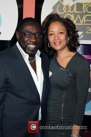 Eddie Levert and Raquel Levert - The 2013 Soul Train Awards held at Orleans Arena inside The Orleans Hotel &...