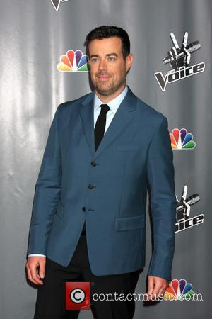 Carson Daly - The Voice Judges Photocall - Season 5 at the Universal Studios Lot, Stage 19 - Los Angeles,...