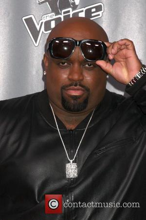 CeeLo Green - The Voice Judges Photocall - Season 5 at the Universal Studios Lot, Stage 19 - Los Angeles,...