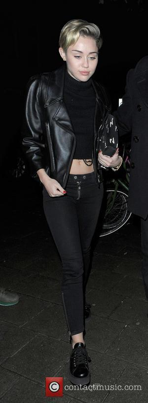 Miley Cyrus - Miley Cyrus enjoys a late night out...
