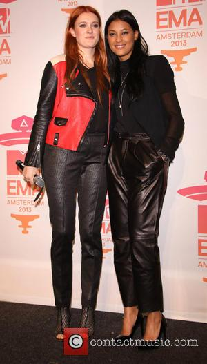 Icona Pop - MTV EMA Press Conference at the WesterUnie - Amsterdam, Netherlands - Saturday 9th November 2013