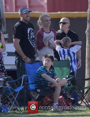 Britney Spears, David Lucado and Sean Preston Federline