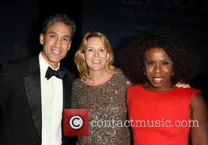 Ron, Laurel Holloman and Uzo Aduba