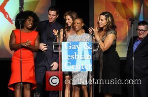 Uzo Aduba, Pablo Schreiber, Alysia Reiner, Samira Wiley, Dascha Polanco and Lea DeLaria - L.A. Gay & Lesbian Center's 42nd...