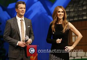 Markus Lanz and Celine Dion