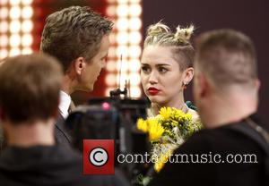 Markus Lanz and Miley Cyrus