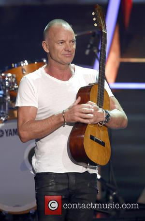 Sting - Celebrities appear on German TV show 'Wetten Dass...?' - Halle, Saxony-Anhalt, Germany - Saturday 9th November 2013