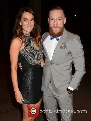 Dee Devlin and Conor McGregor - Amanda Holden was among guests on The Late Late Show... - Dublin, Ireland -...