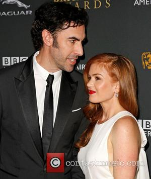Sacha Baron Cohen and Isla Fisher - 2013 BAFTA Los Angeles Jaguar Britannia Awards presented by BBC America at The...