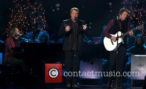 Rascal Flatts, Joe Don Rooney, Gary LeVox and Jay DeMarcus - 2013 CMA Country Christmas hosted by Jennifer Nettles at...