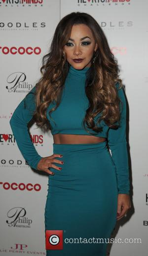Chelsee Healey - Celebrities arrive at the Hilton Hotel Manchester for the Hearts And Minds Las Vegas Ball - Manchester,...