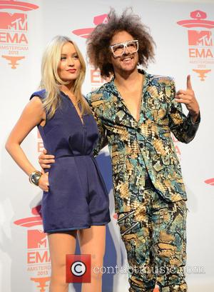 Laura Whitmore and Redfoo