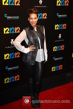 Alicia Keys - New York Premiere of 12-12-12 at Clearview Cinemas Ziegfeld Theater - NYC, New York, United States -...