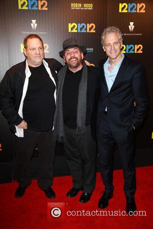 Harvey Weinstein, James Dolan and John Sykes