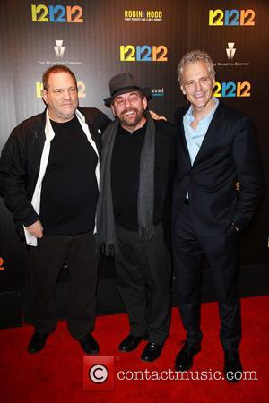 Harvey Weinstein, James Dolan and John Sykes - New York Premiere of 12-12-12 at Clearview Cinemas Ziegfeld Theater - NYC,...