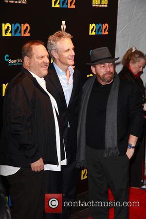 Harvey Weinstein, John Sykes and James Dolan