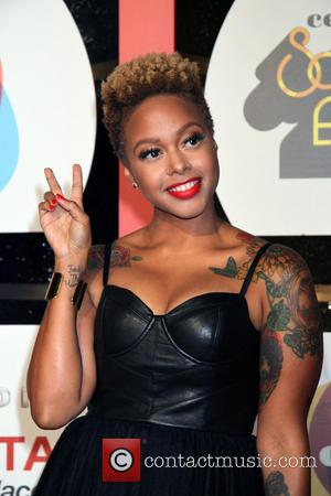 Chrisette Michele - Soul Train Awards 2013 Held At Orleans Arena At Orleans Hotel and Casino In Las Vegas, NV...