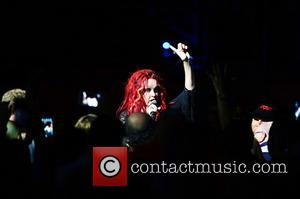 Cyndi Lauper - Cyndi Lauper performs live in concert at Hard Rock Live! at the Seminole Hard Rock Hotel &...