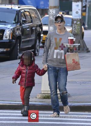 Jillian Michaels and Lukensia Michaels Rhoades - Jillian Michaels and her daughter, Lukensia, out and about in Manhattan - New...