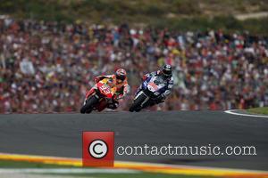 Valencia and Marc Marquez