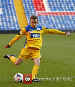 Danny Jones - Nordoff Robbins and the Crystal Palace Football Club Foundation celebrity football match held at Selhurst Park -...
