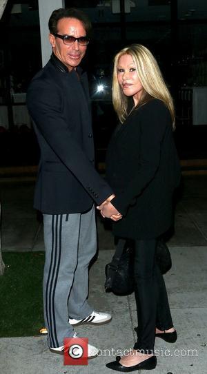 Lloyd Klein and Jocelyn Wildenstein - Lloyd Klein and Jocelyn Wildenstein outside Fig & Olive in West Hollywood - West...